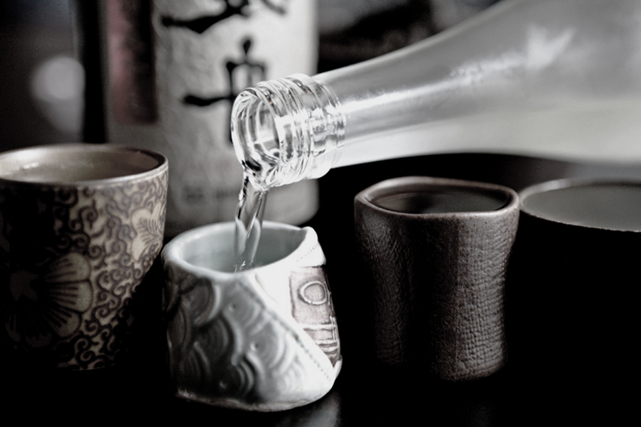 Saké alcool japonais